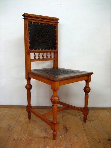 Sessel oder stuhl altdeutsch sp tes 19 jahrhundert for Sessel 19 jahrhundert
